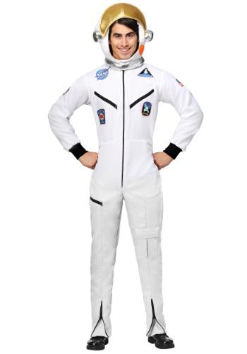 White Astronaut Jumpsuit Costume