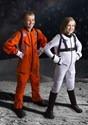 Kids Orange Astronaut Jumpsuit Costume