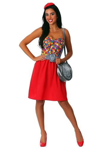 Gumball Machine Womens Costume