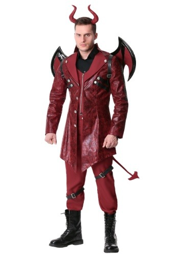 Click Here to buy Mens Dangerous Devil Costume from HalloweenCostumes, CDN Funds & Shipping