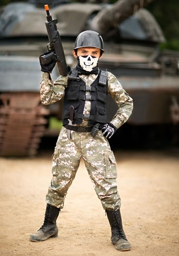 Battle Soldier Costume