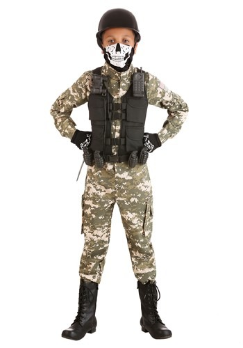Army Battle Soldier Costume