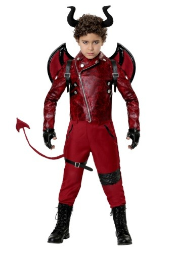 Click Here to buy Kidss Dangerous Devil Costume from HalloweenCostumes, CDN Funds & Shipping