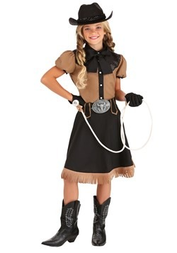 Girl's Lasso'n Cowgirl Costume