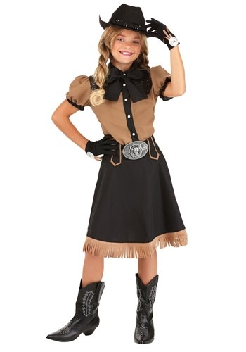 Click Here to buy Lasson Cowgirl Costume from HalloweenCostumes, CDN Funds & Shipping