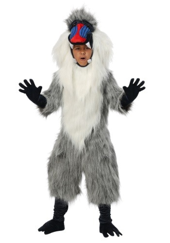 Click Here to buy Baboon Kids Costume from HalloweenCostumes, CDN Funds & Shipping