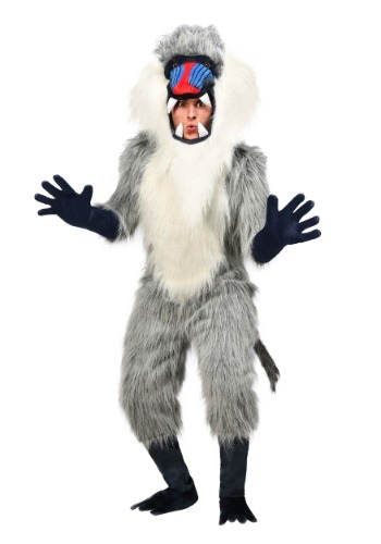 Click Here to buy Baboon Costume for Adults from HalloweenCostumes, CDN Funds & Shipping