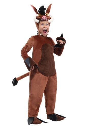 Warthog Costume for Kids | Safari Animal Costume for Kids