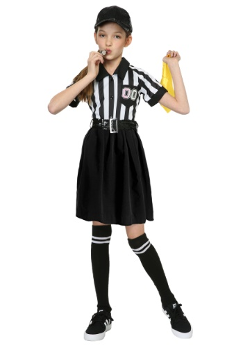 Referee Girls Costume