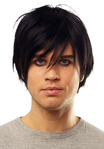 Click Here to buy Emo Black Wig from HalloweenCostumes, CDN Funds & Shipping