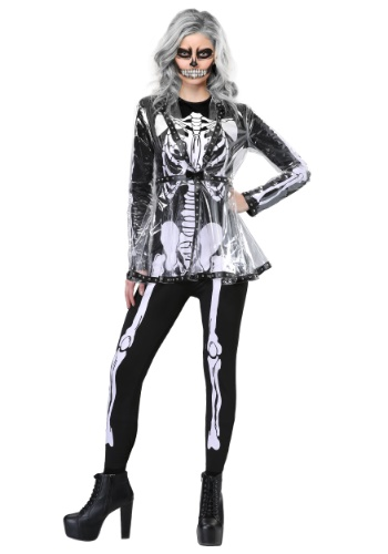 Click Here to buy Fierce Skeleton Womens Costume from HalloweenCostumes, CDN Funds & Shipping