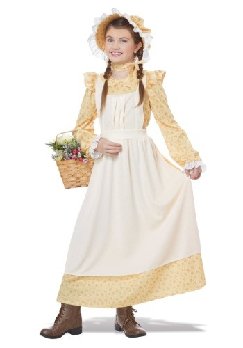 Girls Prairie Girl Costume