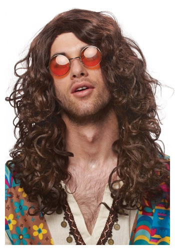 Click Here to buy Groovy Hippie Wig from HalloweenCostumes, CDN Funds & Shipping
