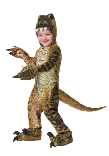 Click Here to buy Velociraptor Costume for a Toddler from HalloweenCostumes, CDN Funds & Shipping
