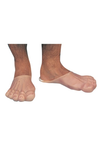 Click Here to buy Mens Funny Feet - Flintstones Adult Costume Accessories from HalloweenCostumes, CDN Funds & Shipping