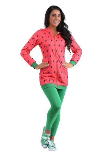 Watermelon Hooded Adult Size Costume Dress