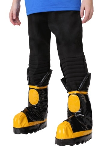 Click Here to buy Firefighter Boys Boot Covers from HalloweenCostumes, CDN Funds & Shipping