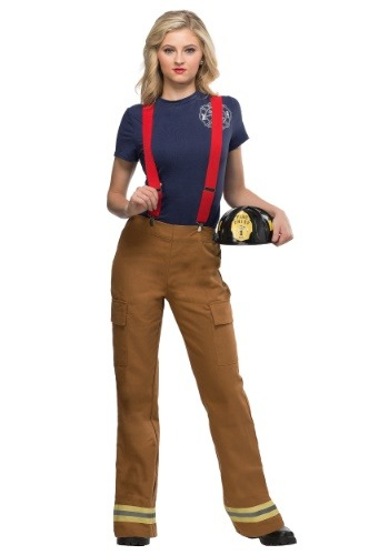 Fire Captain Plus Size Costume for Women