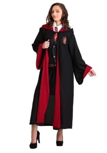 Click Here to buy Hermione Deluxe Womens Costume from HalloweenCostumes, CDN Funds & Shipping