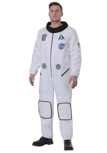 Deluxe Astronaut Costume for Plus Size Men
