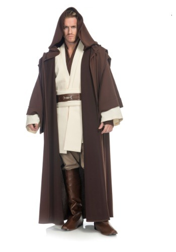 Click Here to buy Obi Wan Kenobi Mens Costume from Star Wars from HalloweenCostumes, CDN Funds & Shipping