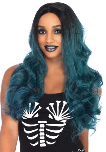 Click Here to buy Blended Two-Tone Long Wavy Womens Wig from HalloweenCostumes, CDN Funds & Shipping