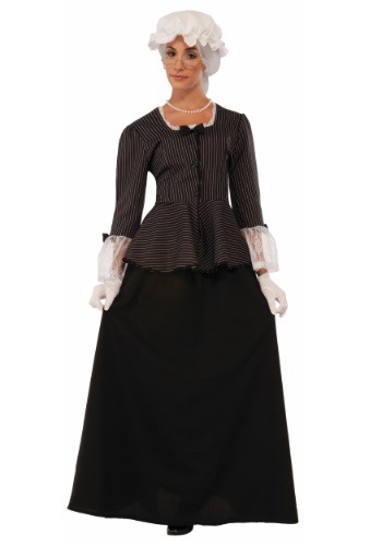 Click Here to buy Martha Washington Womens Costume from HalloweenCostumes, CDN Funds & Shipping
