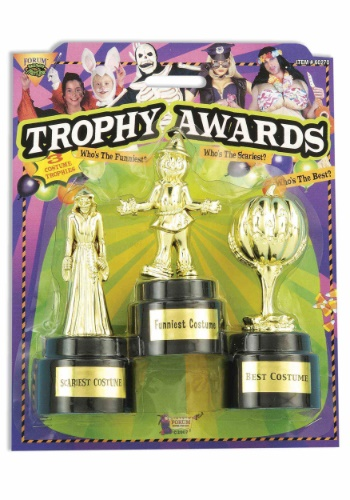 Costume Party 3 Pack Award Trophies