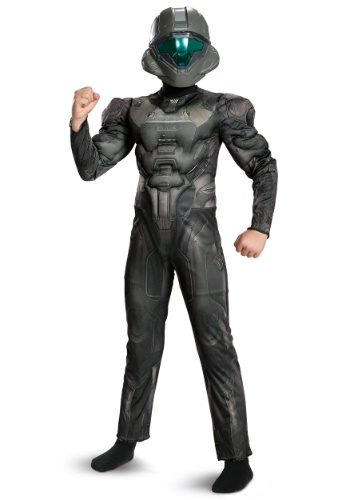 Click Here to buy Halo Spartan Buck Classic Muscle Boys Costume from HalloweenCostumes, CDN Funds & Shipping