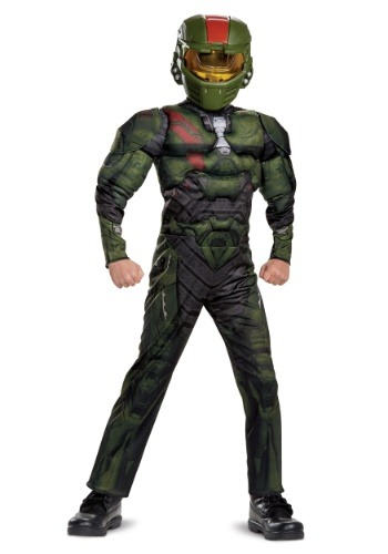 Halo Wars 2 Jerome Classic Muscle Costume for Boys