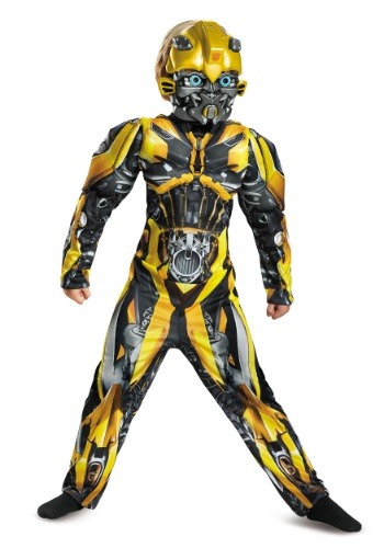Bumblebee Child Muscle Costume from the Transformers