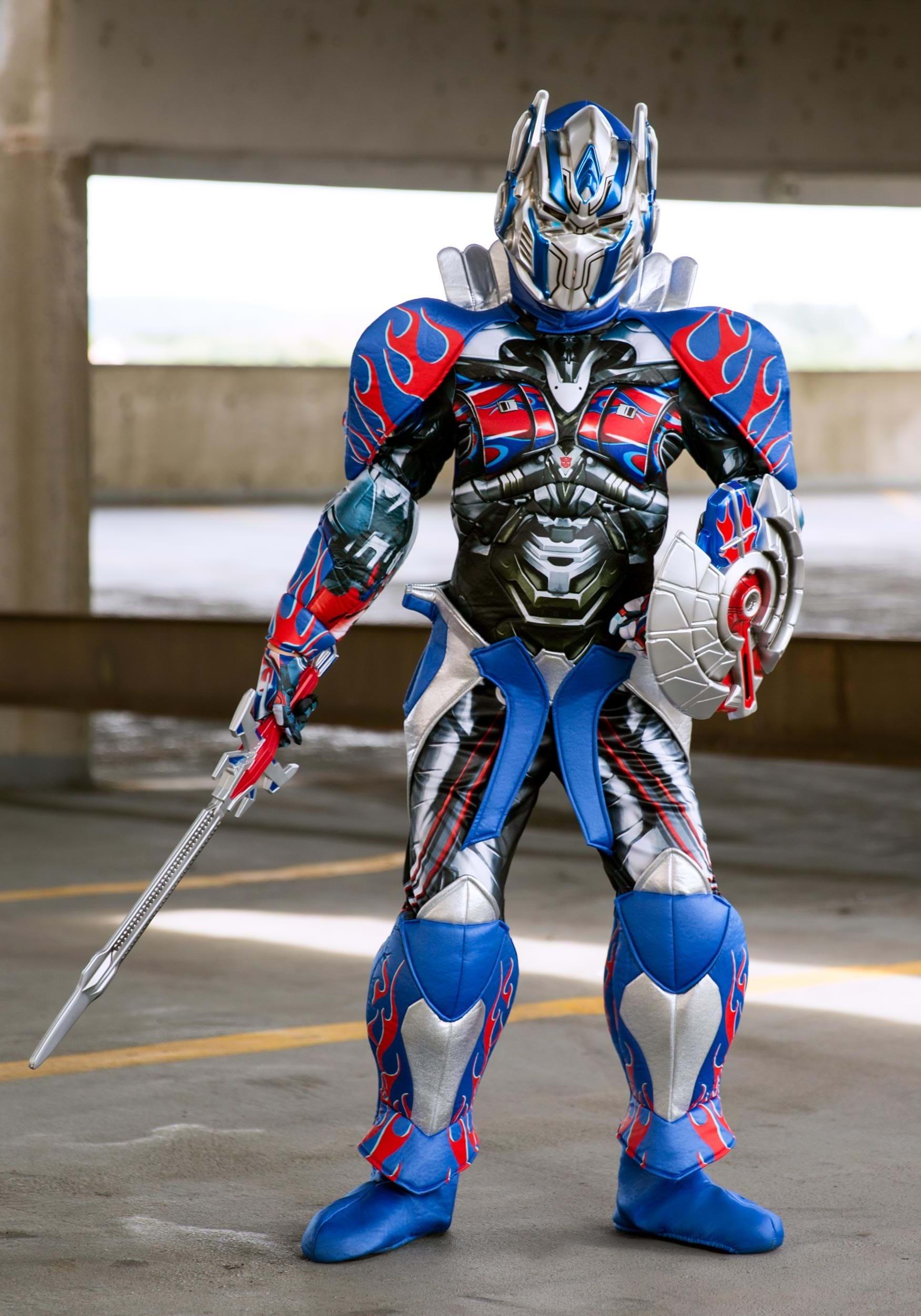 optimus prime child prestige costume from the transformers