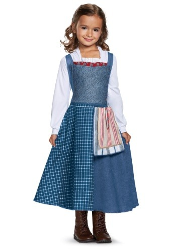 Click Here to buy Belle Village Dress Classic Girls Costume from HalloweenCostumes, CDN Funds & Shipping