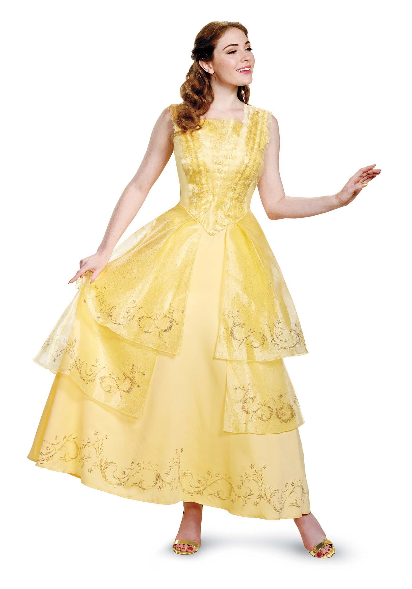 Belle Ball Gown Prestige Adult Costume