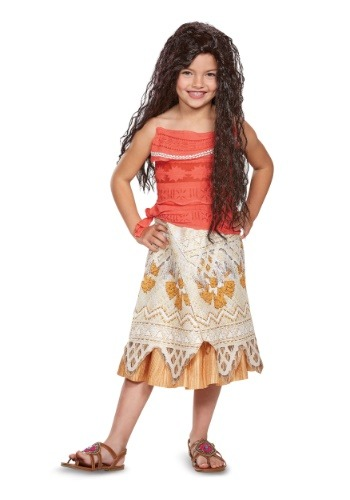Click Here to buy Disney Moana Classic Girls Costume from HalloweenCostumes, CDN Funds & Shipping