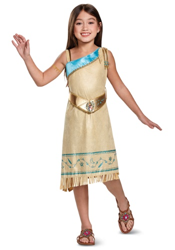 Pocahontas Deluxe Child Size Costume