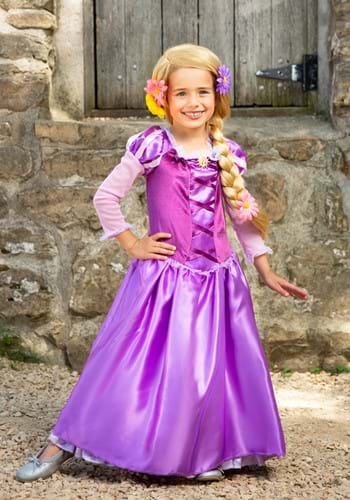 Click Here to buy Rapunzel Classic Kids Costume from HalloweenCostumes, CDN Funds & Shipping