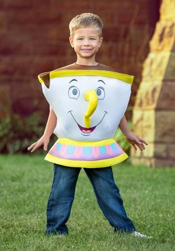 Click Here to buy Chip Deluxe Toddler Costume from Beauty and the Beast from HalloweenCostumes, CDN Funds & Shipping