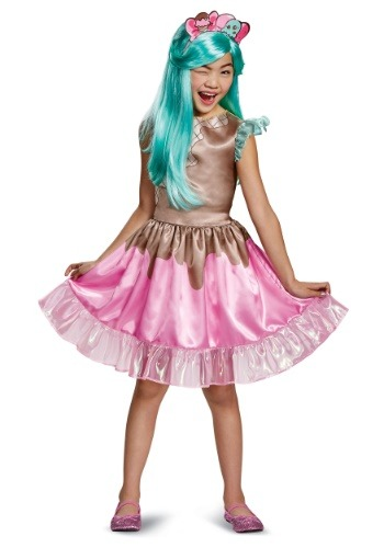 Click Here to buy Peppa-Mint Classic Kids Costume from Shopkins from HalloweenCostumes, CDN Funds & Shipping