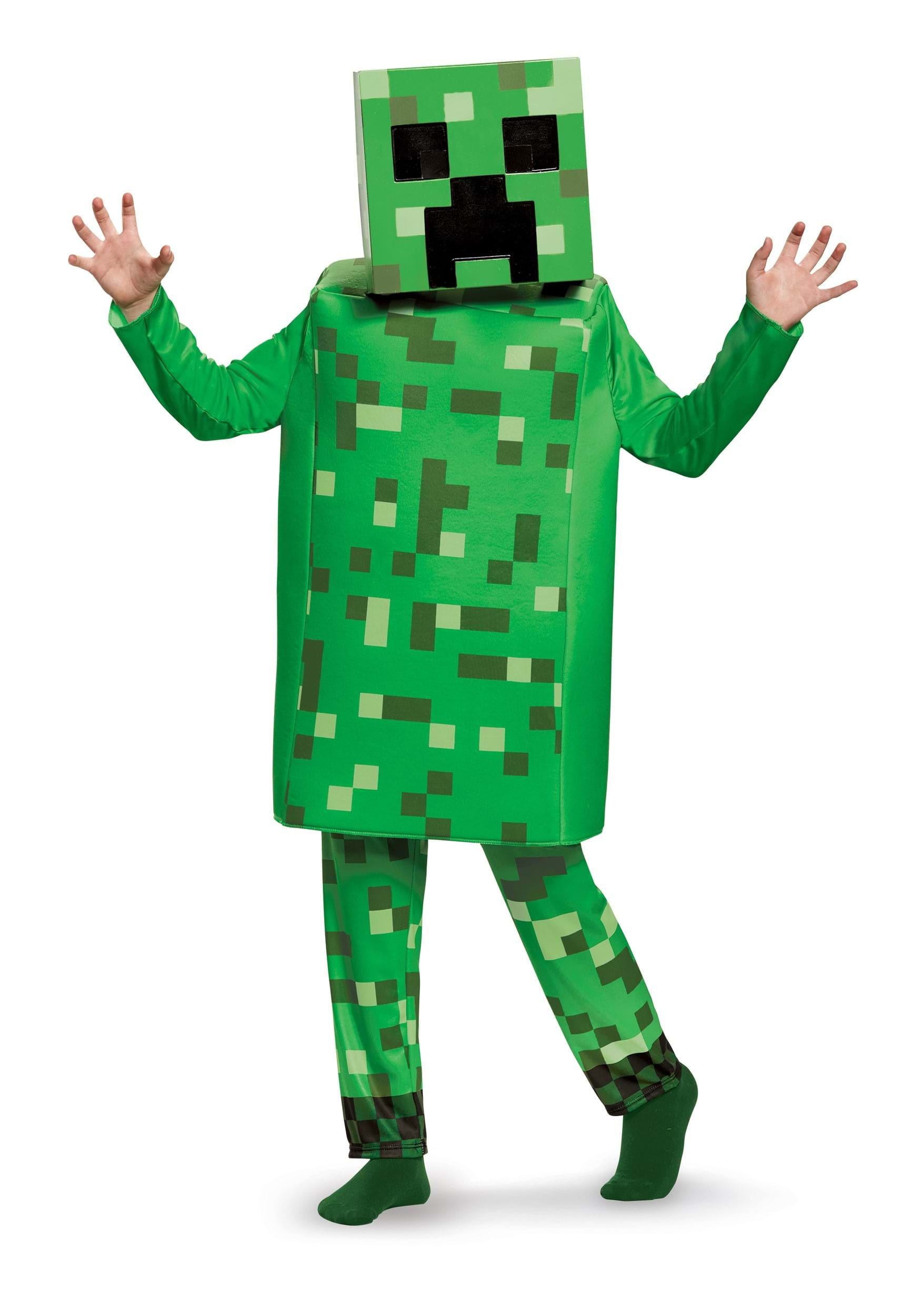 Minecraft Creeper Deluxe Costume for Boys