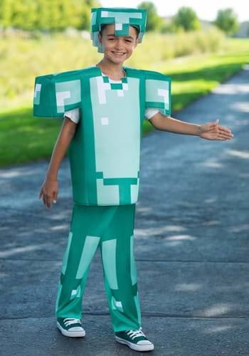 Deluxe Minecraft Armor Costume for Kids