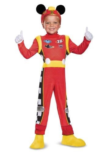 Mickey Roadster Deluxe Toddler Boys Costume