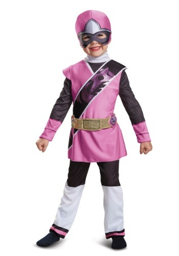 Power Rangers Ninja Steel Pink Ranger Muscle Costume for Toddlers