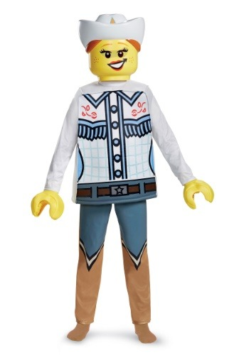 Lego Cowgirl Deluxe Child Size Costume