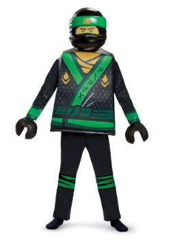 Ninjago Movie Lloyd Deluxe Boys Costume