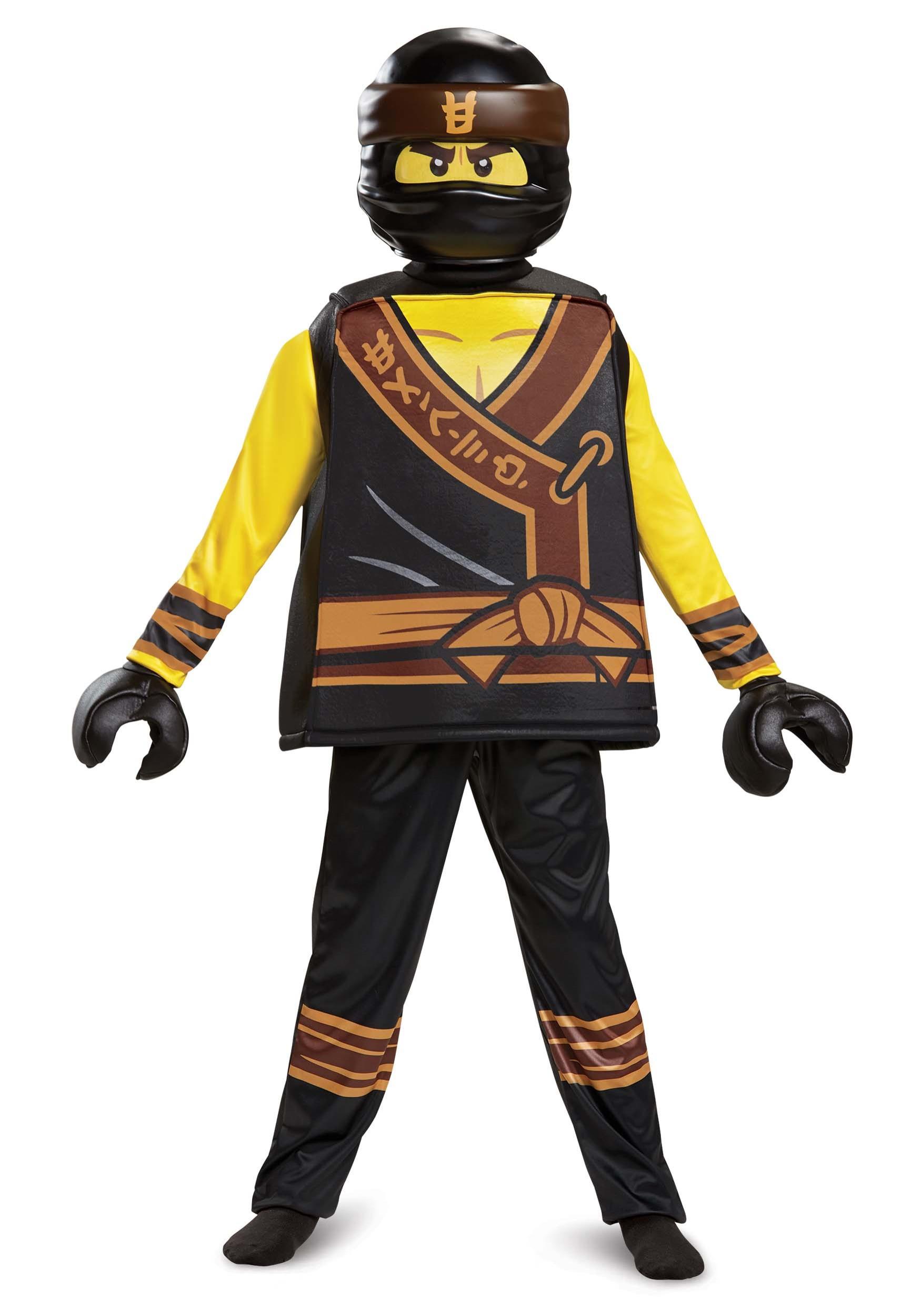 Ninjago Movie Cole Deluxe Costume for Boys