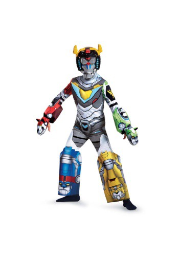 Voltron Deluxe Costume for Boys