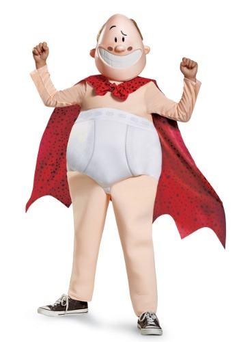 Click Here to buy Boys Captain Underpants Deluxe Costume from HalloweenCostumes, CDN Funds & Shipping