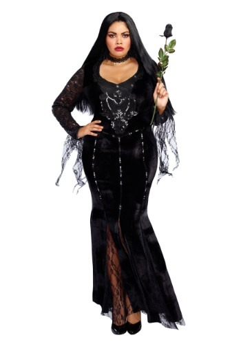 Mortuary Mama Plus Size Costume for Women 1X 2X 3X