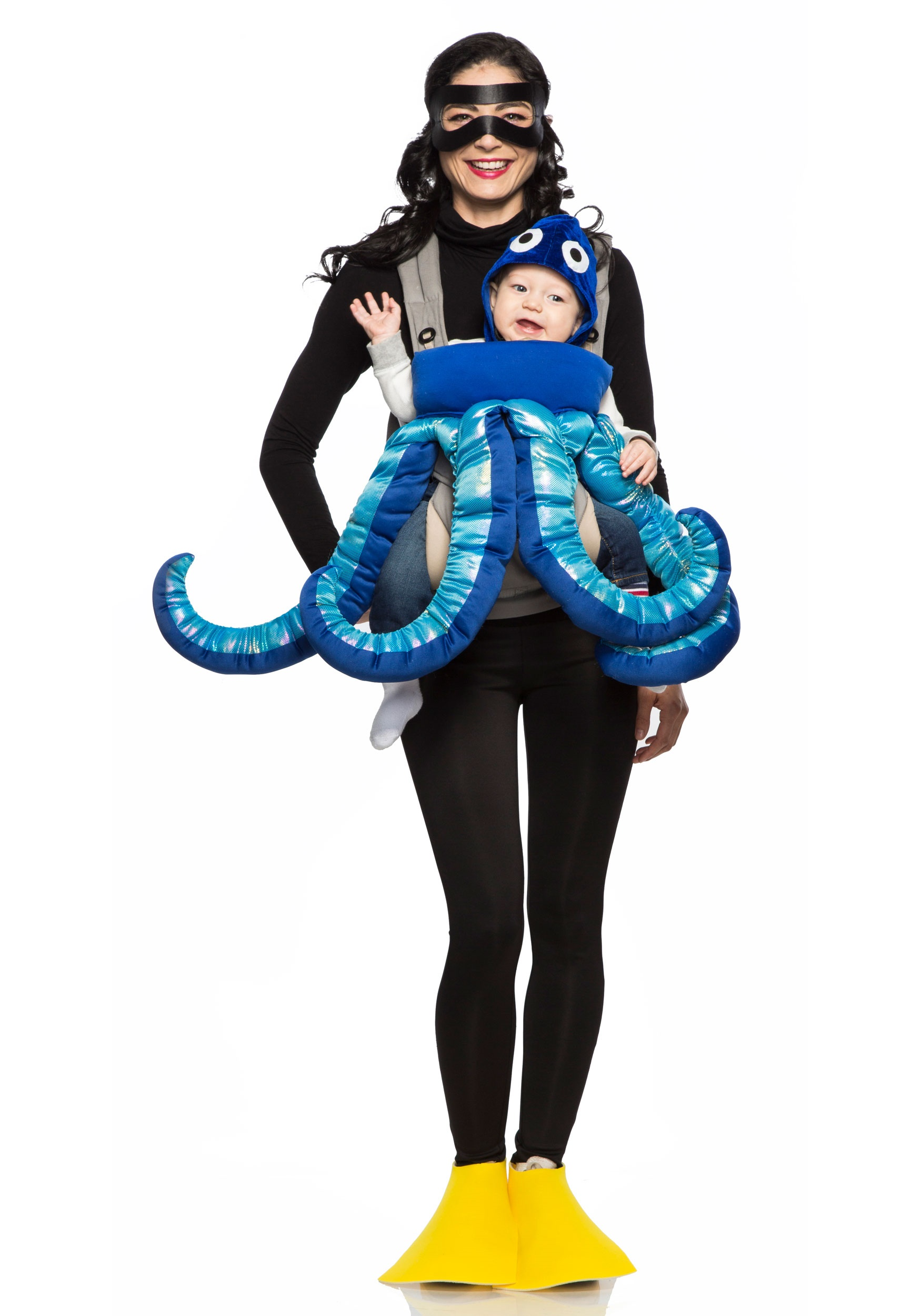 Adult Octopus Hat Deluxe Plush Stuffed Tentacles Halloween Costume Mens Womens
